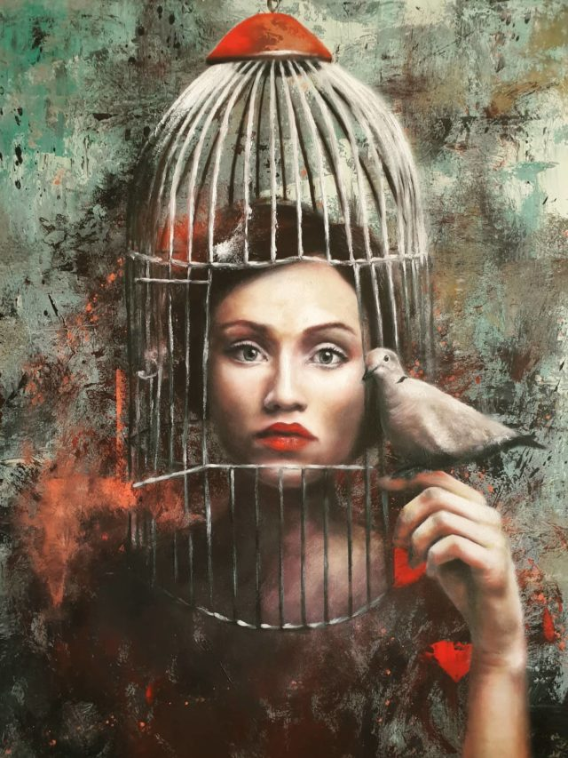 Madness is relative. It depends of who has whom locked in which cage